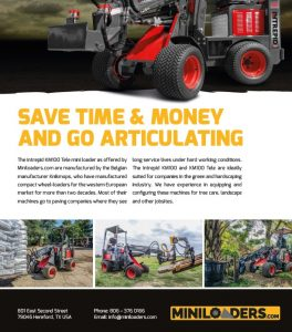 mini loader flyer